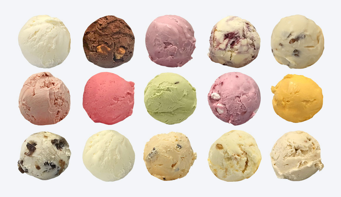 Ice Cream Selection
